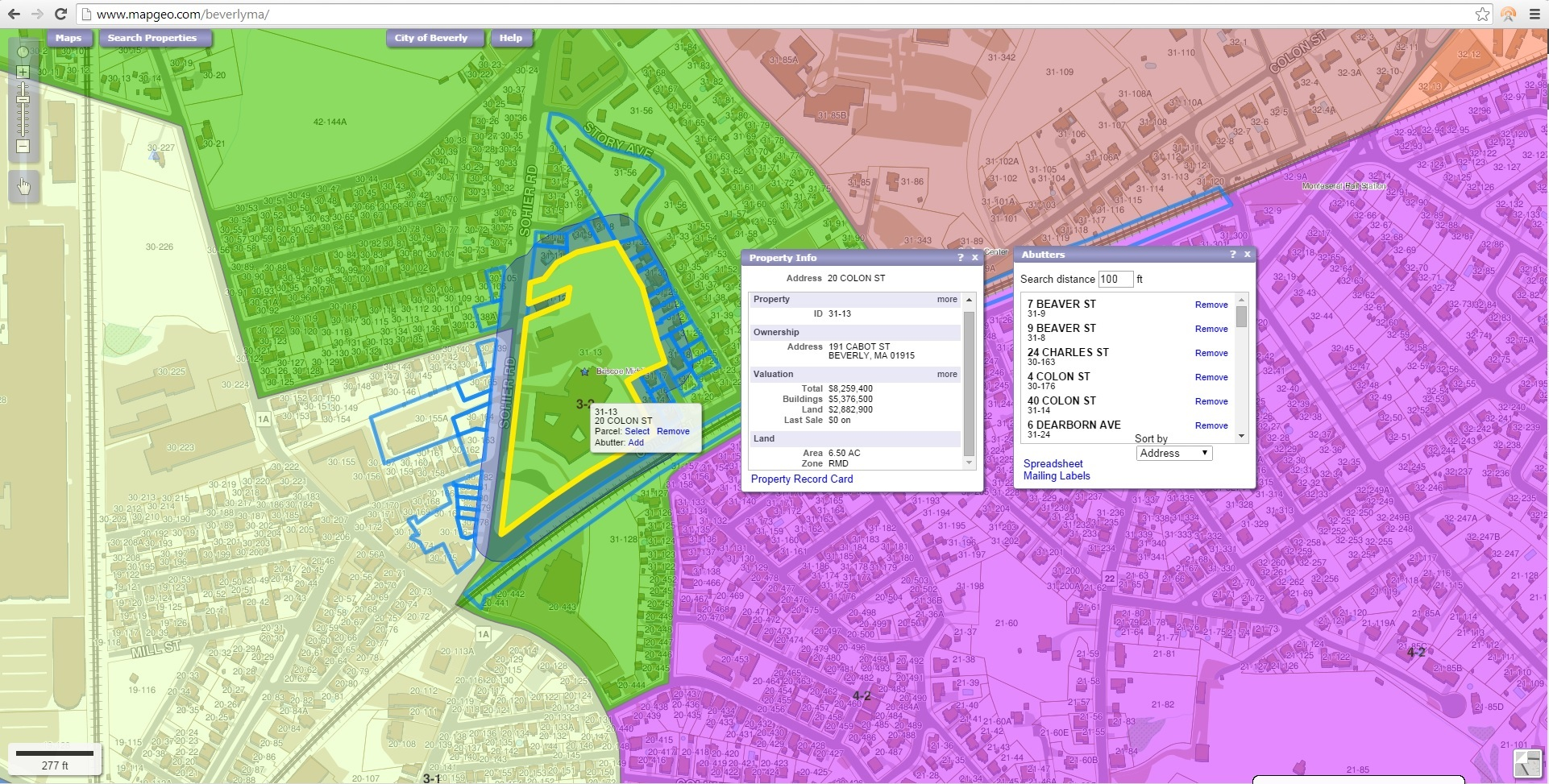 MapGeo Online Property Mapping wins Best Web Map Application ...