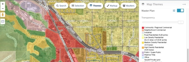 Carson City's MapGeo