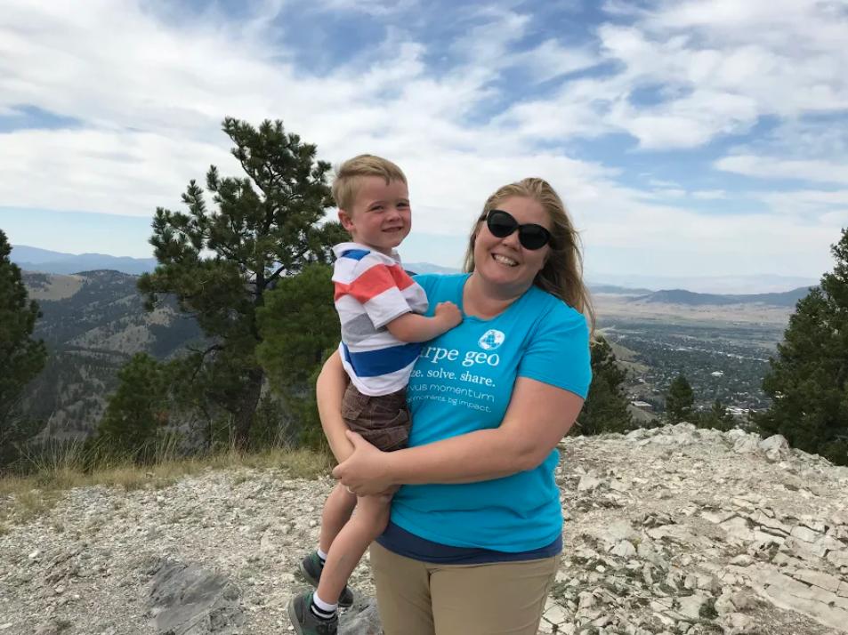 Erin Fashaway, State GIS Coordinator, Montana