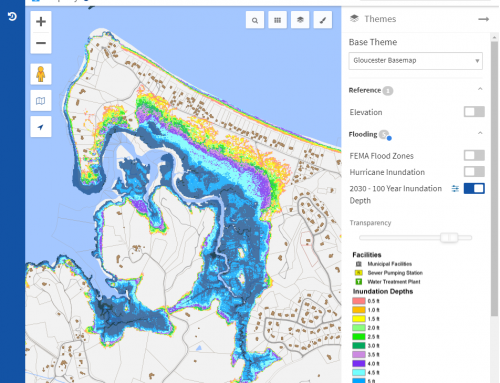 City of Gloucester, MA – Flood Model Assessment and Hurricane Inundation Map Display