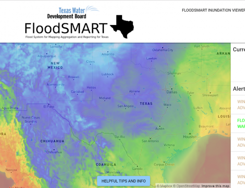 State of Texas Water Development Board (TWDB) – FloodSMART Dashboard