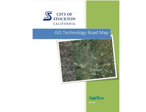 City of Stockton, CA GIS Technology Road Map