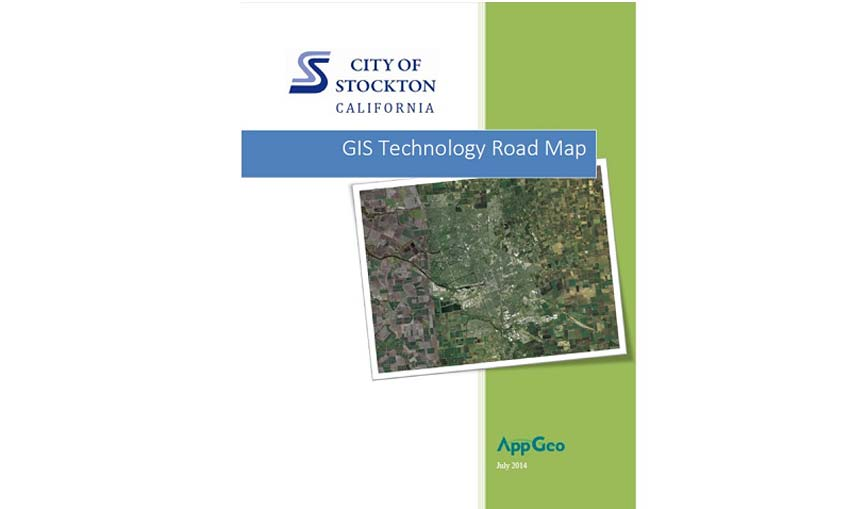City of Stockton CA GIS Technology Road Map