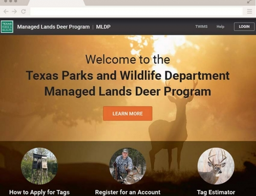 Texas Managed Lands Deer Program Application