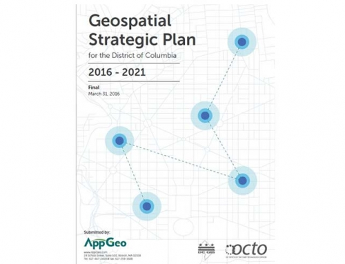 Washington DC Geospatial Strategic Plan