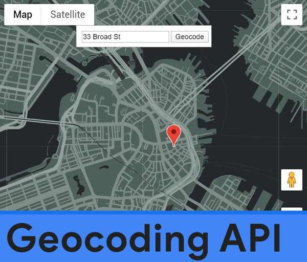 Geocoding API