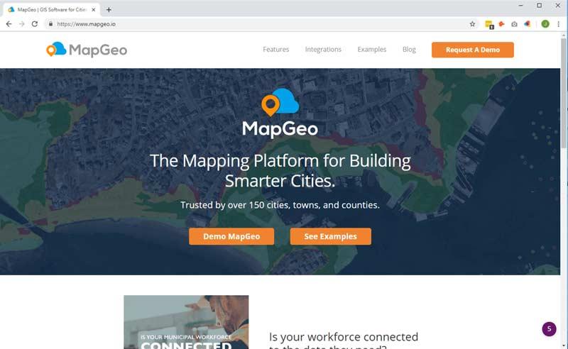 MapGeo Google Maps