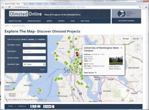 Olmsted Online - U Washington Points