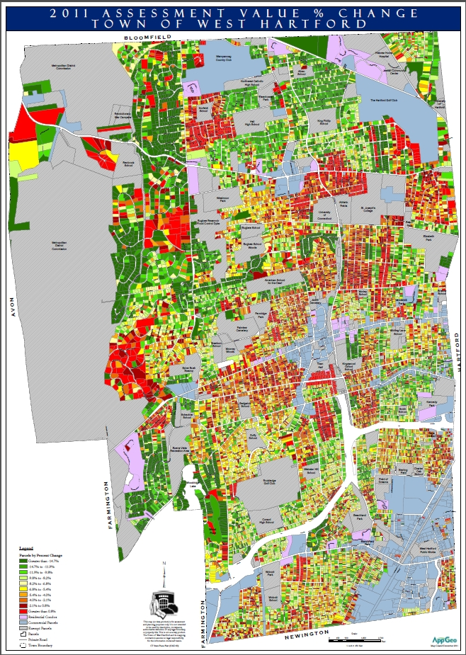 Maps help property revaluation