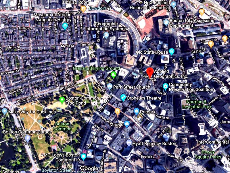 Google Maps Platform - AppGeo