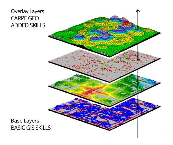 Carpe Geo map overlay