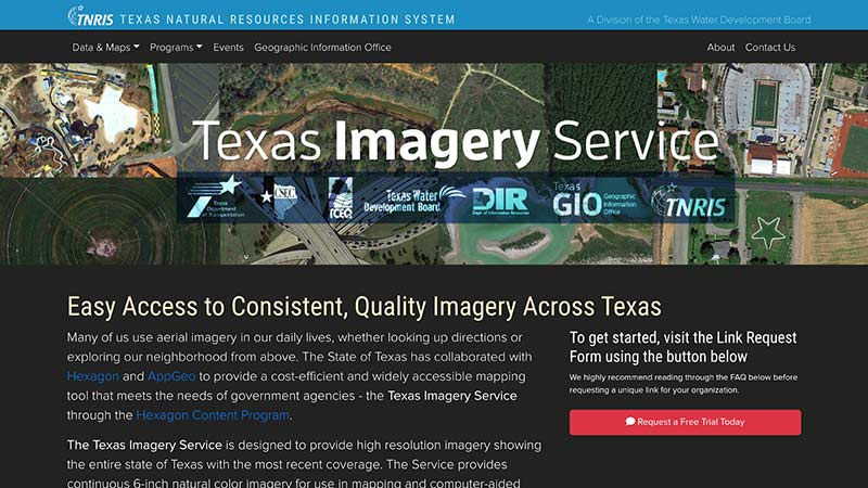 Texas Imagery Service